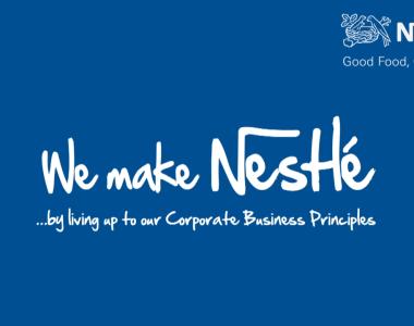 """We Make Nestlé"" video"