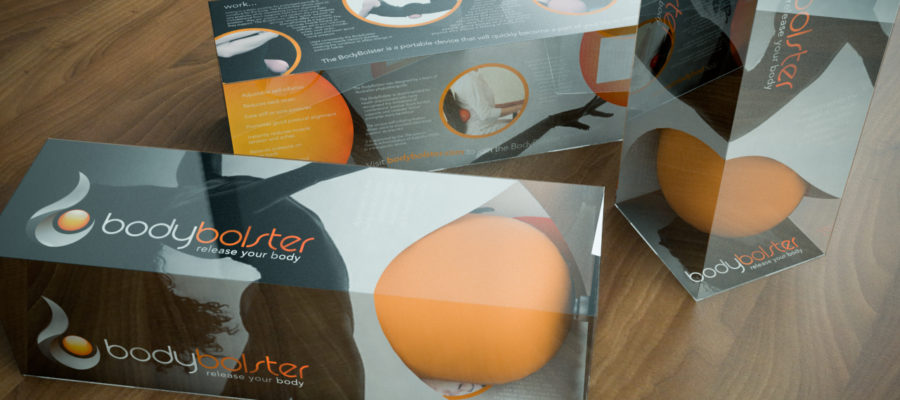 Bodybolster logo, packaging design and photography