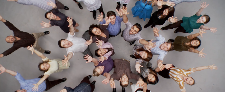A corporate music video?!
